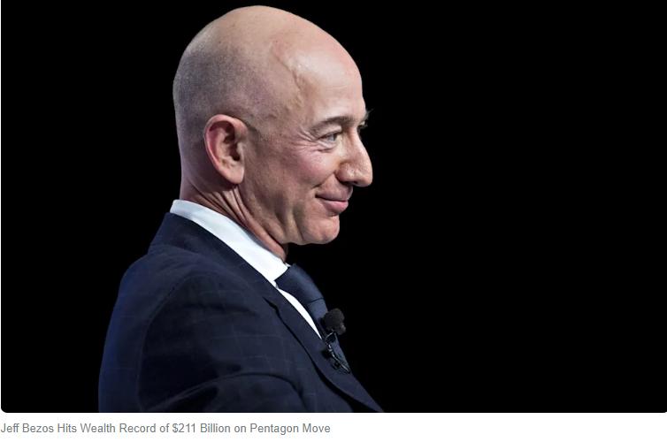 Jeff Bezos, Worlds richest man
